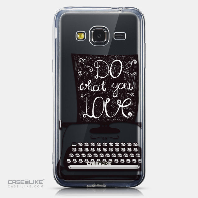 CASEiLIKE Samsung Galaxy J3 (2016) back cover Quote 2400