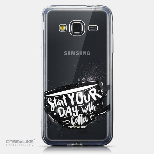 CASEiLIKE Samsung Galaxy J3 (2016) back cover Quote 2402