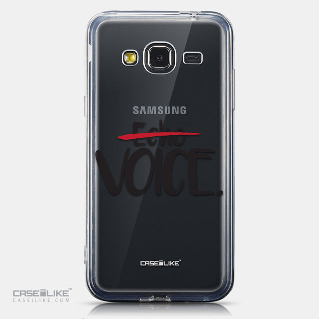 CASEiLIKE Samsung Galaxy J3 (2016) back cover Quote 2405