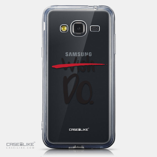 CASEiLIKE Samsung Galaxy J3 (2016) back cover Quote 2407