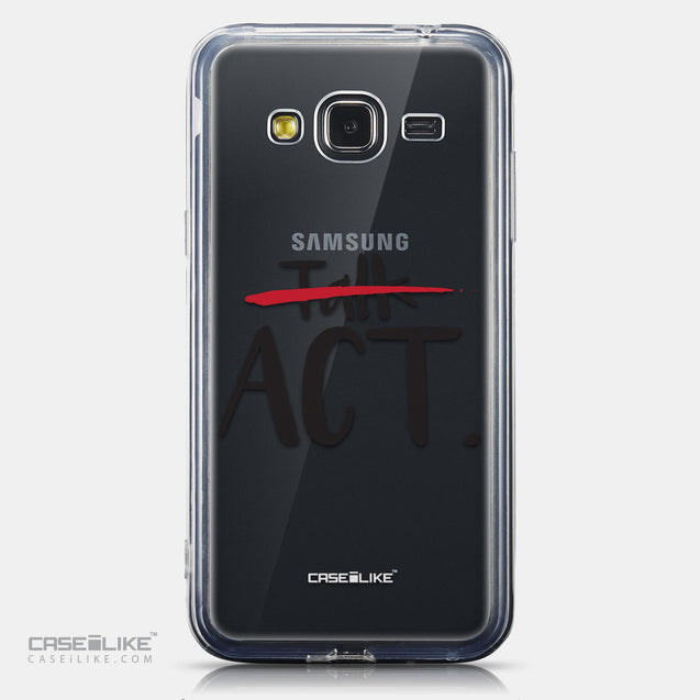 CASEiLIKE Samsung Galaxy J3 (2016) back cover Quote 2408