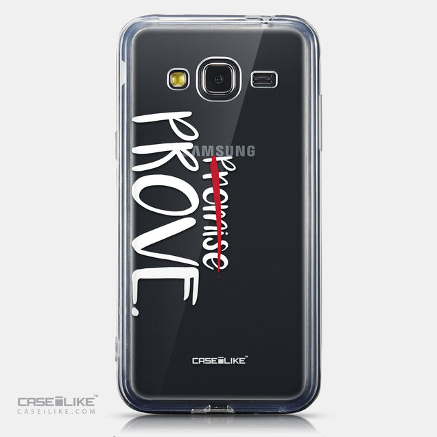 CASEiLIKE Samsung Galaxy J3 (2016) back cover Quote 2409