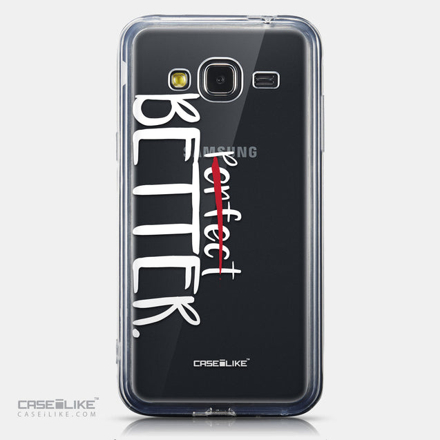 CASEiLIKE Samsung Galaxy J3 (2016) back cover Quote 2410