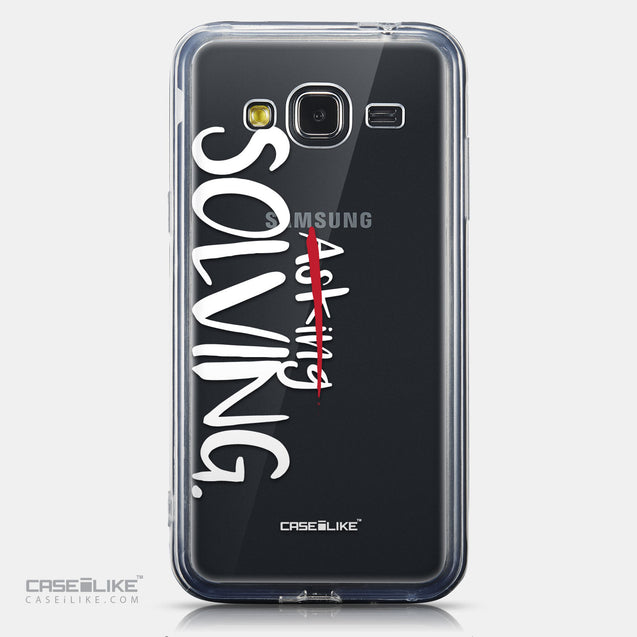 CASEiLIKE Samsung Galaxy J3 (2016) back cover Quote 2412