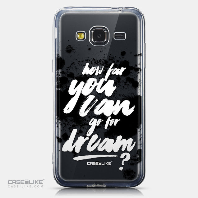 CASEiLIKE Samsung Galaxy J3 (2016) back cover Quote 2413