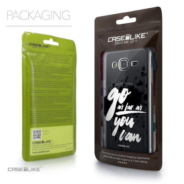 Packaging - CASEiLIKE Samsung Galaxy J3 (2016) back cover Quote 2415