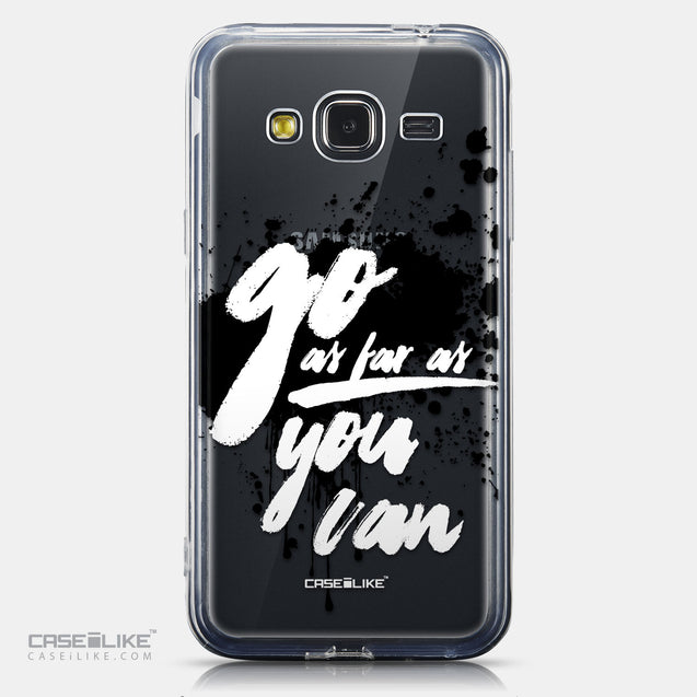 CASEiLIKE Samsung Galaxy J3 (2016) back cover Quote 2415
