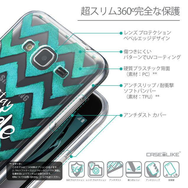 Details in Japanese - CASEiLIKE Samsung Galaxy J3 (2016) back cover Quote 2418