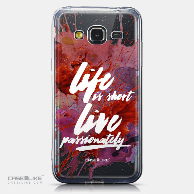 CASEiLIKE Samsung Galaxy J3 (2016) back cover Quote 2423