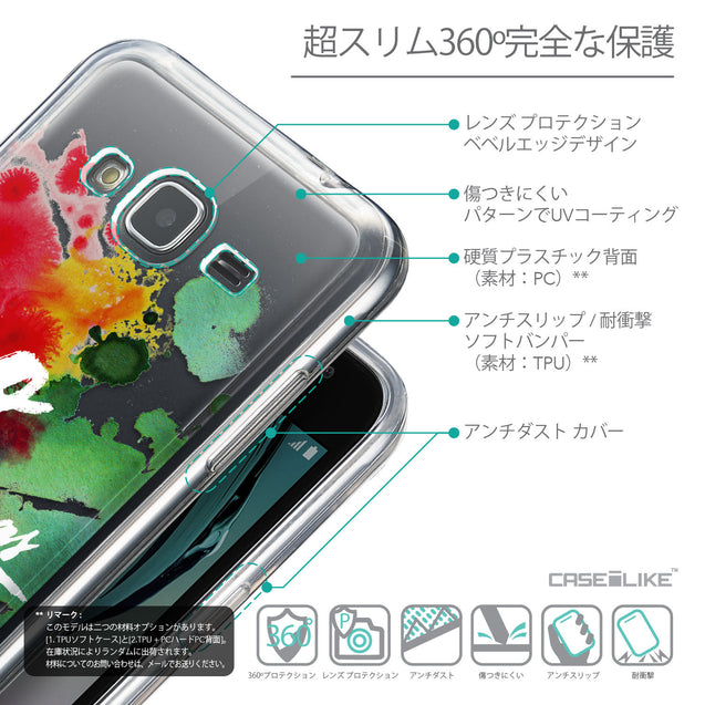 Details in Japanese - CASEiLIKE Samsung Galaxy J3 (2016) back cover Quote 2424