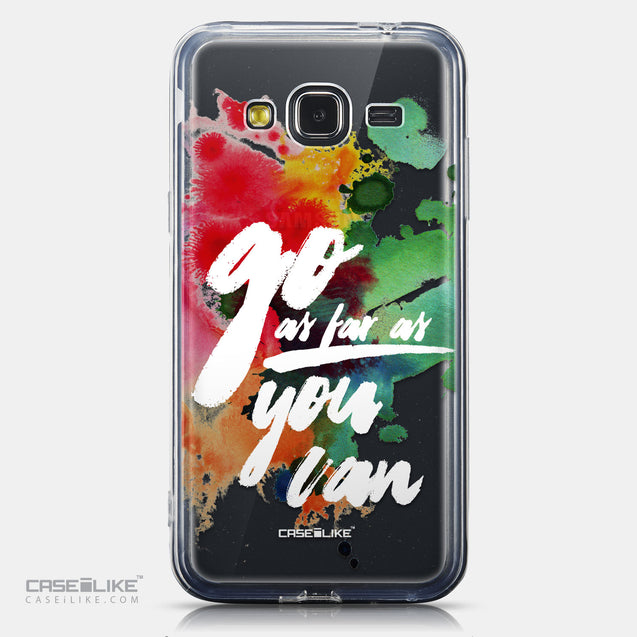 CASEiLIKE Samsung Galaxy J3 (2016) back cover Quote 2424