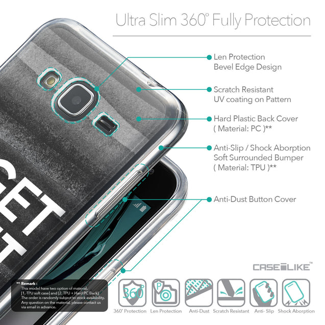 Details in English - CASEiLIKE Samsung Galaxy J3 (2016) back cover Quote 2429
