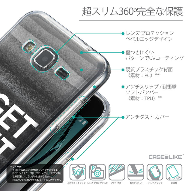 Details in Japanese - CASEiLIKE Samsung Galaxy J3 (2016) back cover Quote 2429