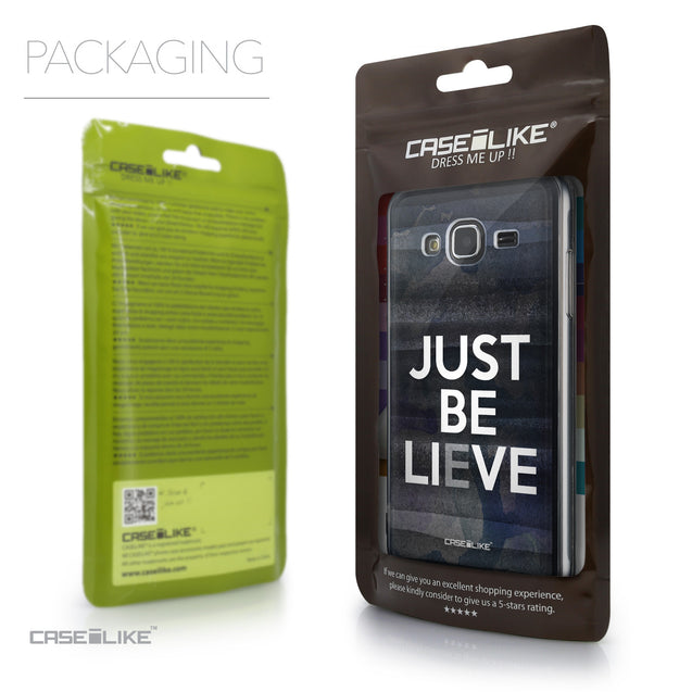 Packaging - CASEiLIKE Samsung Galaxy J3 (2016) back cover Quote 2430