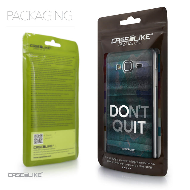 Packaging - CASEiLIKE Samsung Galaxy J3 (2016) back cover Quote 2431