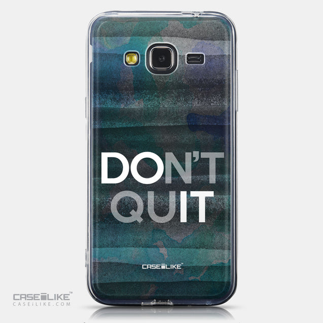 CASEiLIKE Samsung Galaxy J3 (2016) back cover Quote 2431