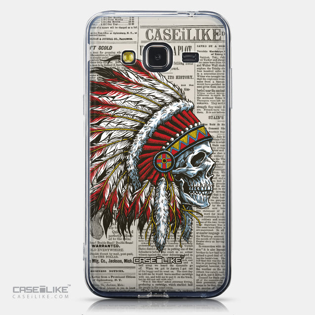 CASEiLIKE Samsung Galaxy J3 (2016) back cover Art of Skull 2522