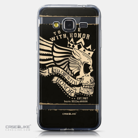 CASEiLIKE Samsung Galaxy J3 (2016) back cover Art of Skull 2529