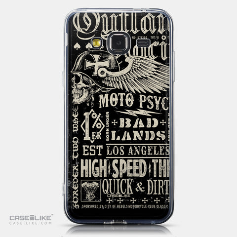 CASEiLIKE Samsung Galaxy J3 (2016) back cover Art of Skull 2531