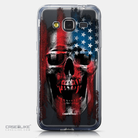 CASEiLIKE Samsung Galaxy J3 (2016) back cover Art of Skull 2532