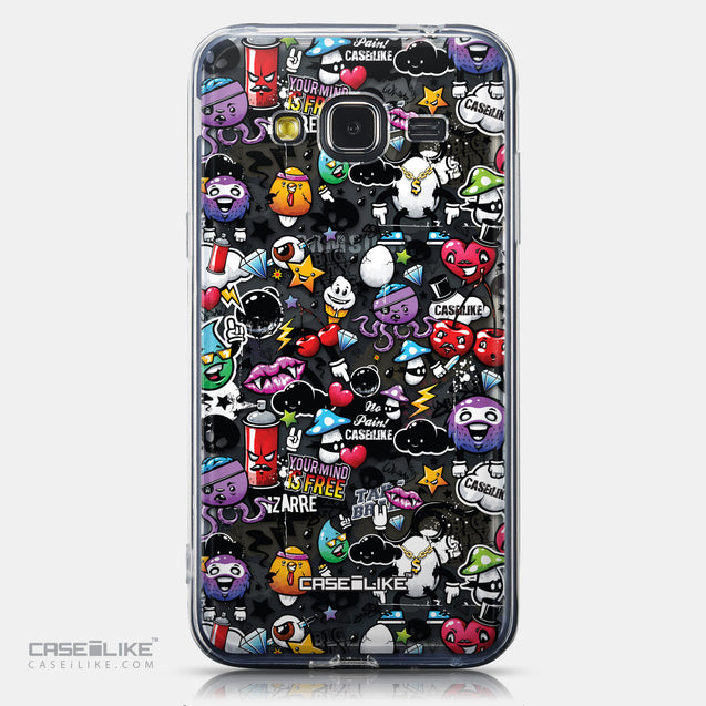 CASEiLIKE Samsung Galaxy J3 (2016) back cover Graffiti 2703
