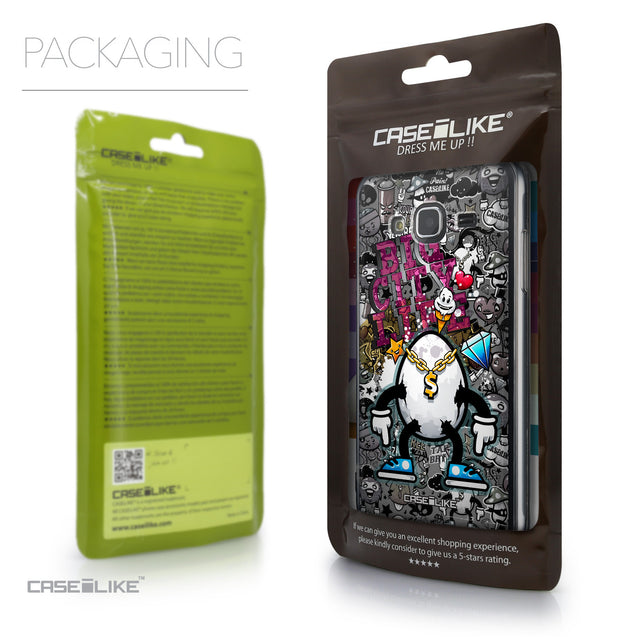 Packaging - CASEiLIKE Samsung Galaxy J3 (2016) back cover Graffiti 2704