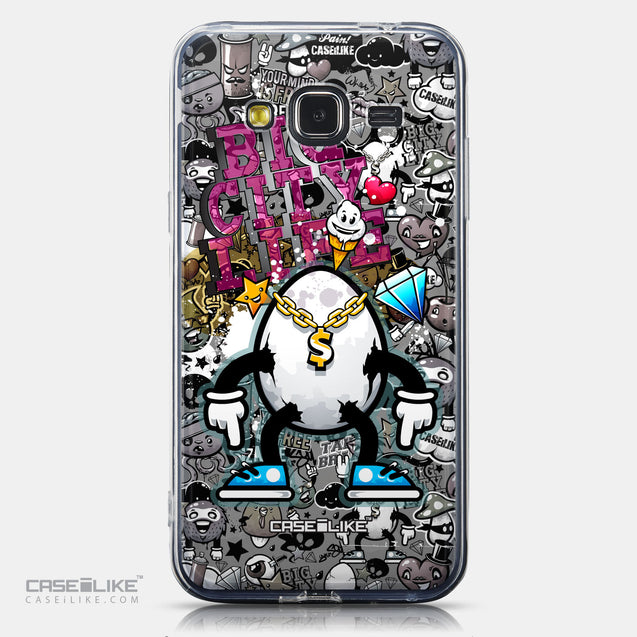 CASEiLIKE Samsung Galaxy J3 (2016) back cover Graffiti 2704