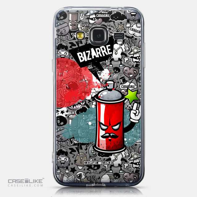 CASEiLIKE Samsung Galaxy J3 (2016) back cover Graffiti 2705