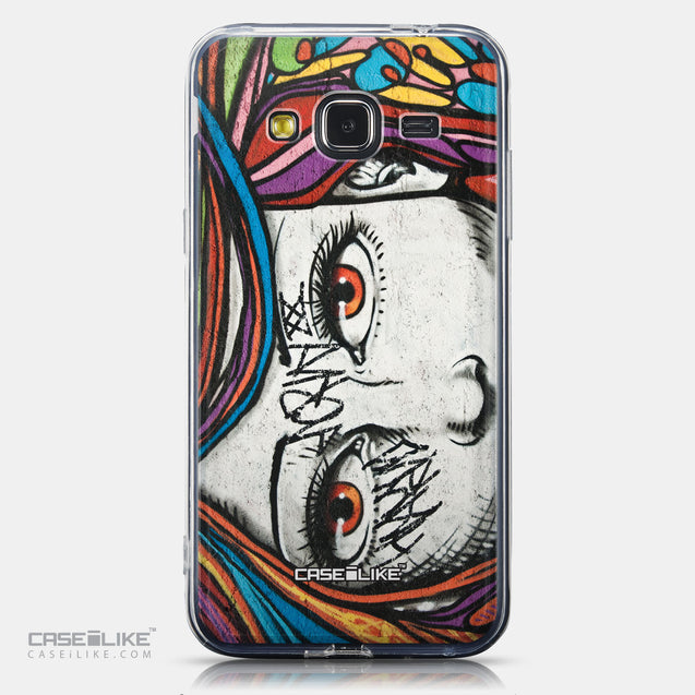 CASEiLIKE Samsung Galaxy J3 (2016) back cover Graffiti Girl 2725
