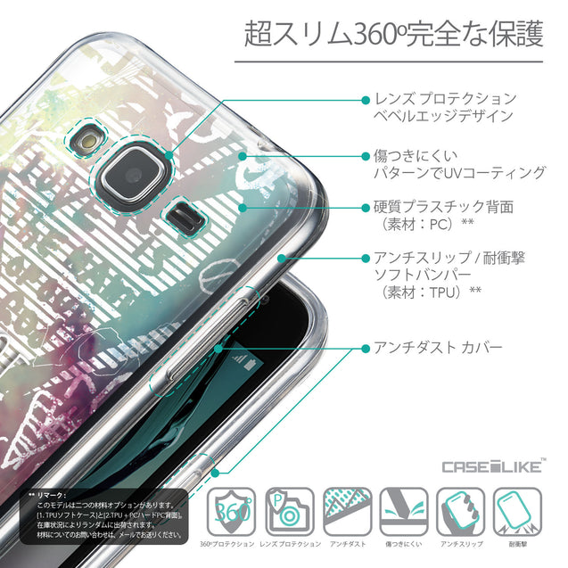 Details in Japanese - CASEiLIKE Samsung Galaxy J3 (2016) back cover Graffiti 2726
