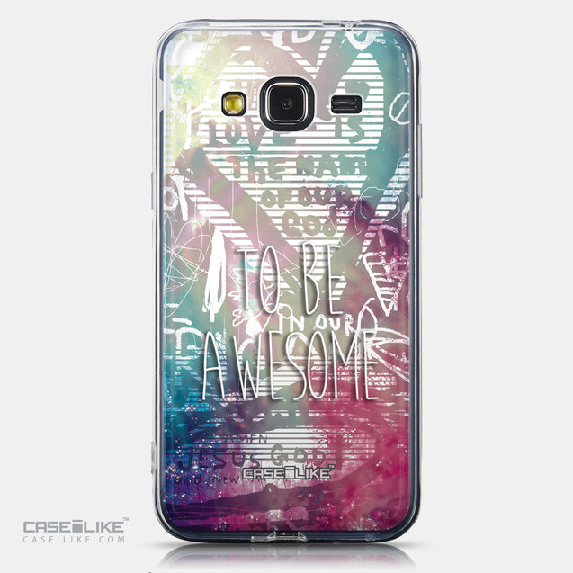 CASEiLIKE Samsung Galaxy J3 (2016) back cover Graffiti 2726