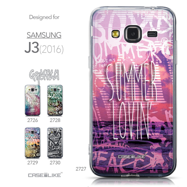 Collection - CASEiLIKE Samsung Galaxy J3 (2016) back cover Graffiti 2727