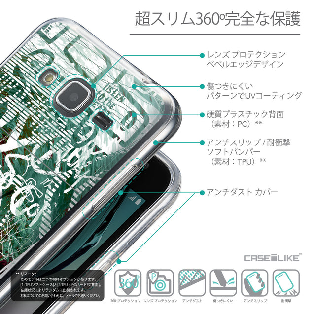 Details in Japanese - CASEiLIKE Samsung Galaxy J3 (2016) back cover Graffiti 2728