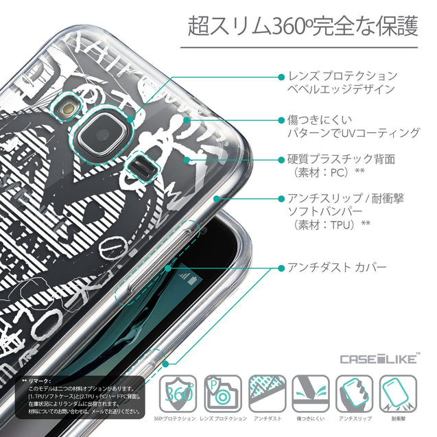 Details in Japanese - CASEiLIKE Samsung Galaxy J3 (2016) back cover Graffiti 2730