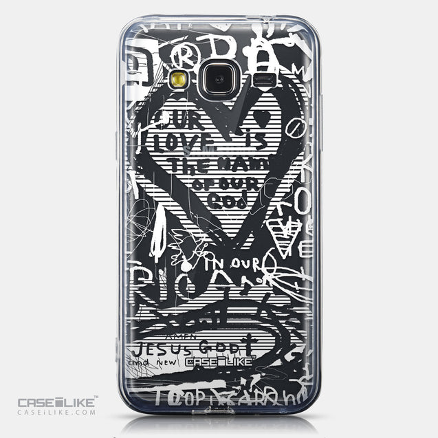 CASEiLIKE Samsung Galaxy J3 (2016) back cover Graffiti 2730