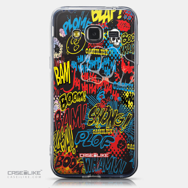CASEiLIKE Samsung Galaxy J3 (2016) back cover Comic Captions Black 2915
