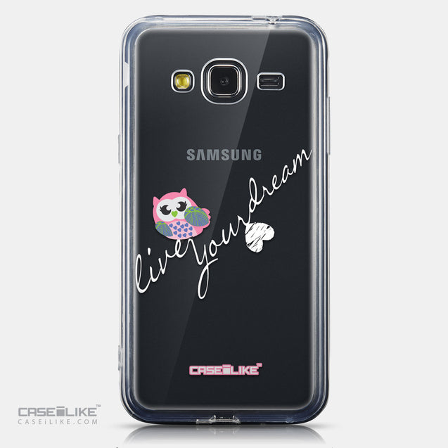 CASEiLIKE Samsung Galaxy J3 (2016) back cover Owl Graphic Design 3314