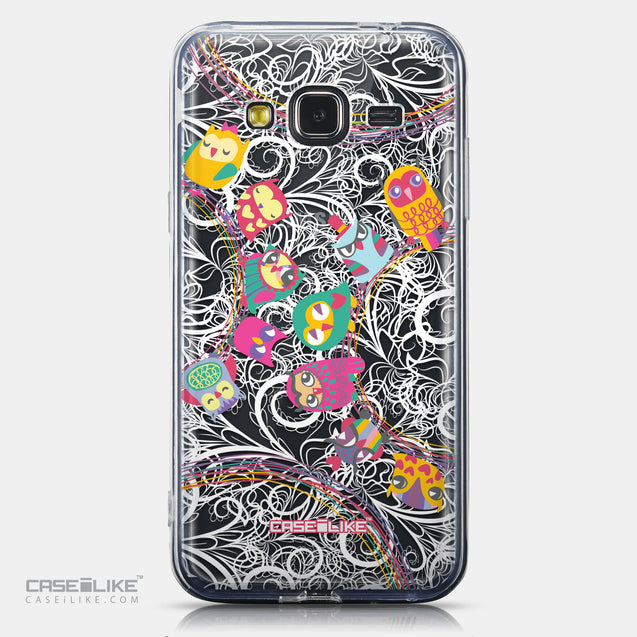 CASEiLIKE Samsung Galaxy J3 (2016) back cover Owl Graphic Design 3316