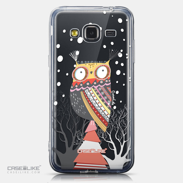 CASEiLIKE Samsung Galaxy J3 (2016) back cover Owl Graphic Design 3317