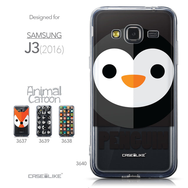 Collection - CASEiLIKE Samsung Galaxy J3 (2016) back cover Animal Cartoon 3640