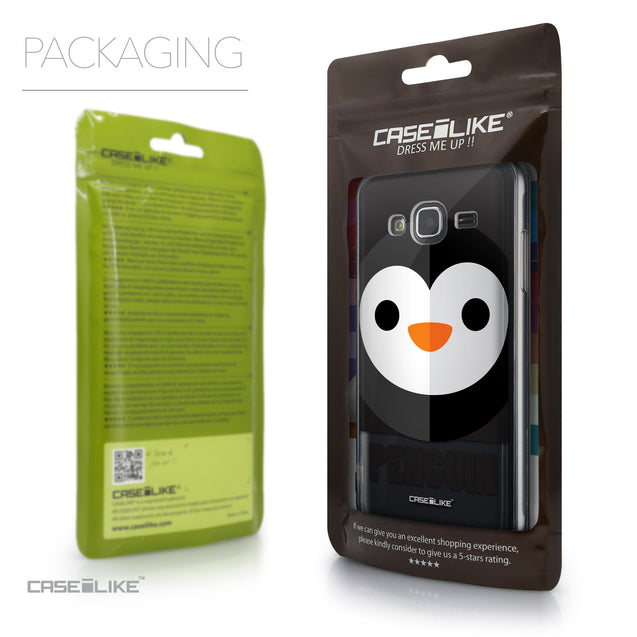 Packaging - CASEiLIKE Samsung Galaxy J3 (2016) back cover Animal Cartoon 3640