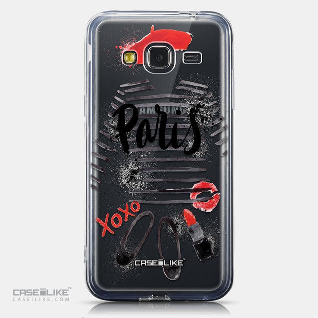 CASEiLIKE Samsung Galaxy J3 (2016) back cover Paris Holiday 3909