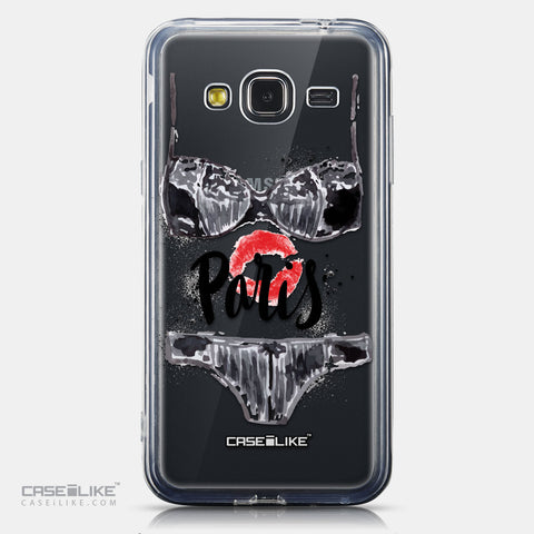 CASEiLIKE Samsung Galaxy J3 (2016) back cover Paris Holiday 3910
