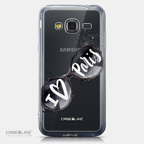 CASEiLIKE Samsung Galaxy J3 (2016) back cover Paris Holiday 3911