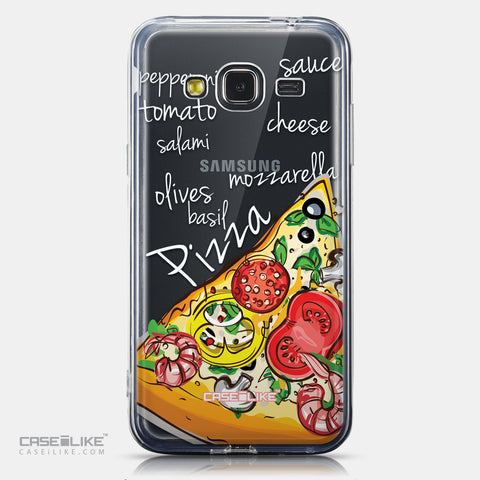 CASEiLIKE Samsung Galaxy J3 (2016) back cover Pizza 4822