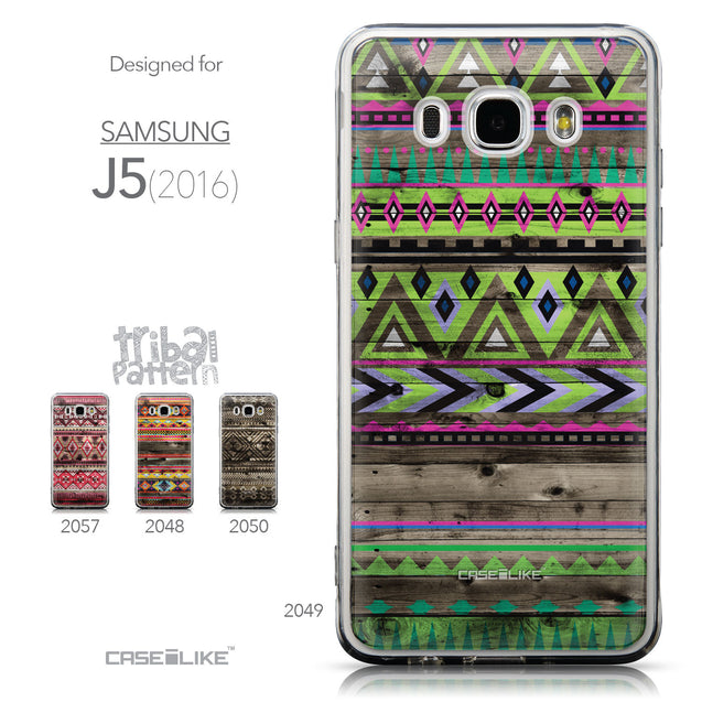 Collection - CASEiLIKE Samsung Galaxy J5 (2016) back cover Indian Tribal Theme Pattern 2049