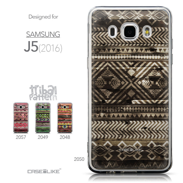 Collection - CASEiLIKE Samsung Galaxy J5 (2016) back cover Indian Tribal Theme Pattern 2050