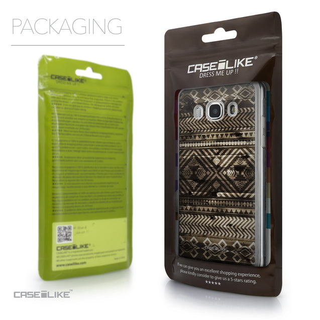 Packaging - CASEiLIKE Samsung Galaxy J5 (2016) back cover Indian Tribal Theme Pattern 2050