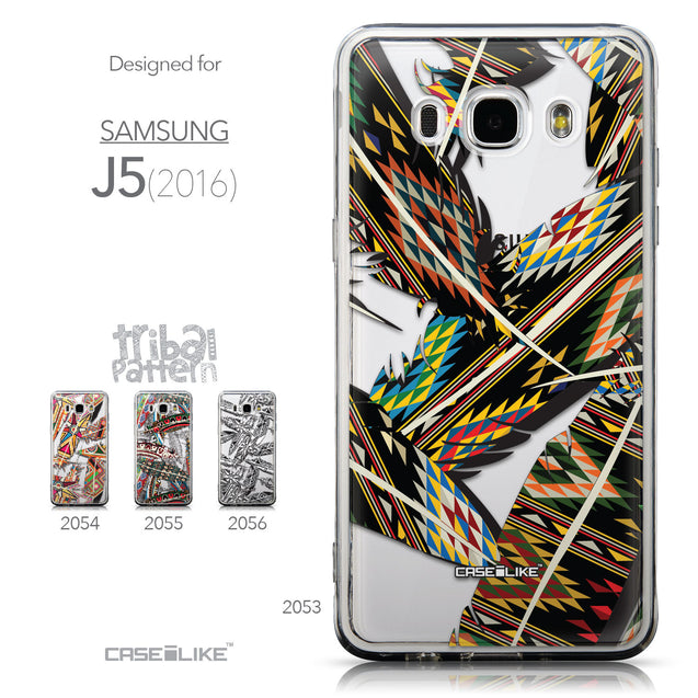 Collection - CASEiLIKE Samsung Galaxy J5 (2016) back cover Indian Tribal Theme Pattern 2053