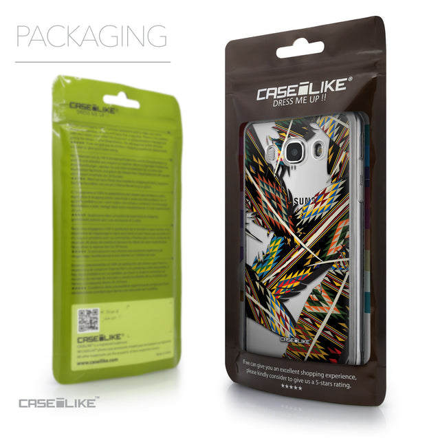 Packaging - CASEiLIKE Samsung Galaxy J5 (2016) back cover Indian Tribal Theme Pattern 2053